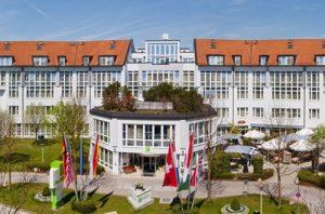 Holiday Inn München Unterhaching Außenansicht